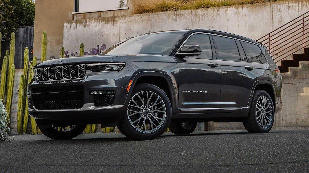 New 2022 Jeep Grand Cherokee L Bigger Bolder Better Suv 2021 Youtube