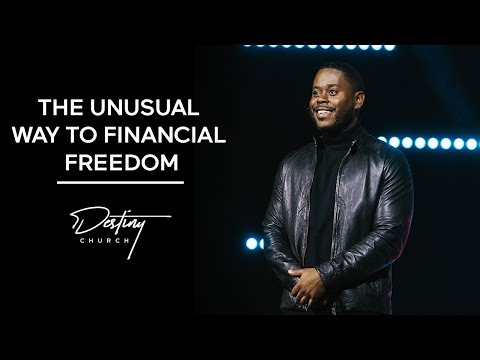 The Unusual Way to Financial Freedom | Anthony ONeal - YouTube