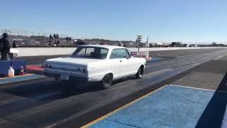 White Chevy Nova