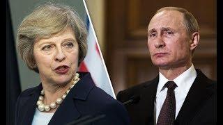 Theresa May MUY CABREADA Amenaza a Vladimir Putin con Destapar su intervención en el Brexit