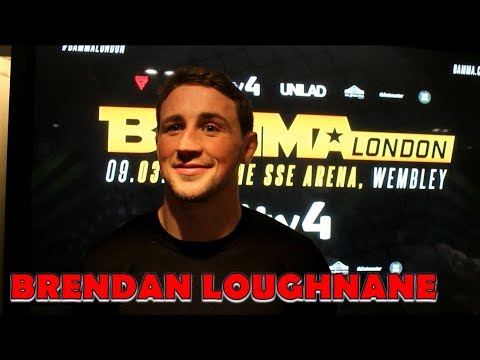 Brendan Loughnane Wants Paddy Pimblett Fight 'More Than Anything' l BAMMA 34