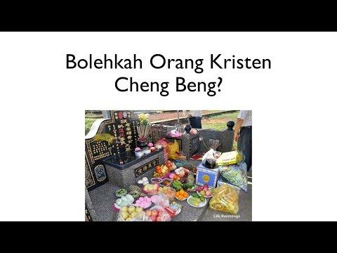 BIBLE TALK - Bolehkah Orang Kristen Cheng Beng?