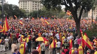 Día de la Hispanidad en Barcelona