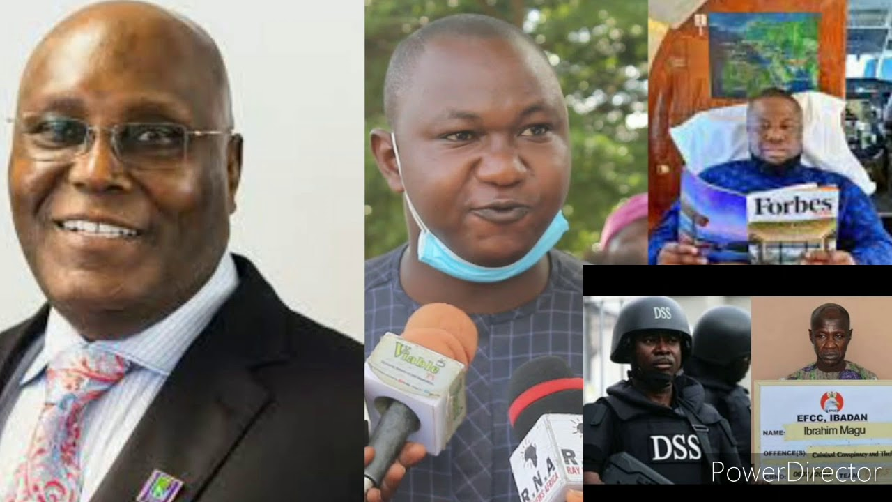 EFCC BOSS MAGU ACCIDENTERLY ESCAPED DSS ARREST, GROUPS CALL ON FBI EFCC TO ATIKU & CO ARRESTS