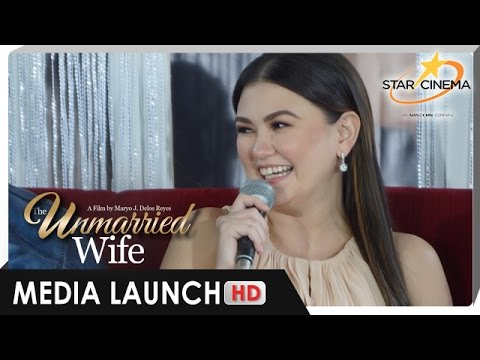 Angelica Panganiban talks about being 'BALIW' with Marian Rivera - 'The Unmarried Wife' Media Launch - 동영상