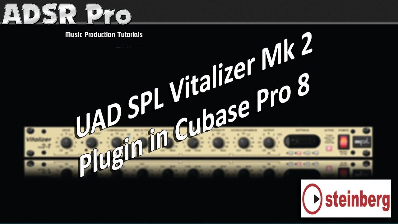 uad spl vitalizer mk2 testing it in action in steinberg cubase pro 8 rh youtube com Vitalizer BioPhotonic Vitalizer Women