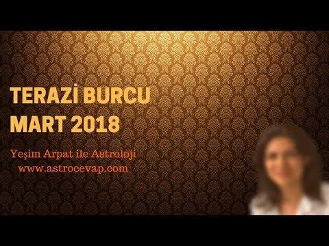 TERAZİ Burcu Mart 2018 Astroloji