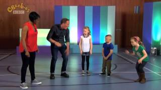 Ollie from 'Beat Goes On' teaching Body Percussion on CBeebies' 'Let's Go Club!'
