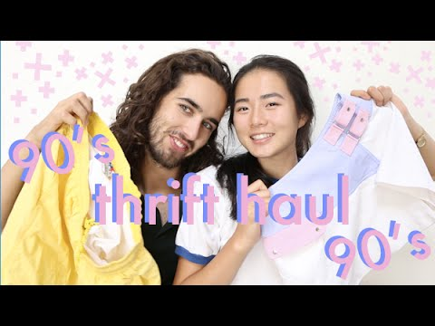 Try-On Thrift Haul ~ 90's vibes ~ under $5