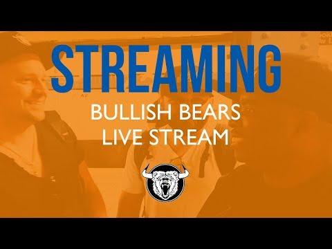 Live Trading Room - Bullish Bears Trade Room Screen Share 5-25-18