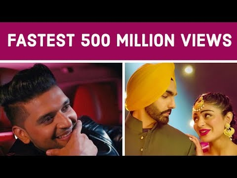 Fastest Indian/Bollywood Songs to Reach 500 Million Views on Youtube