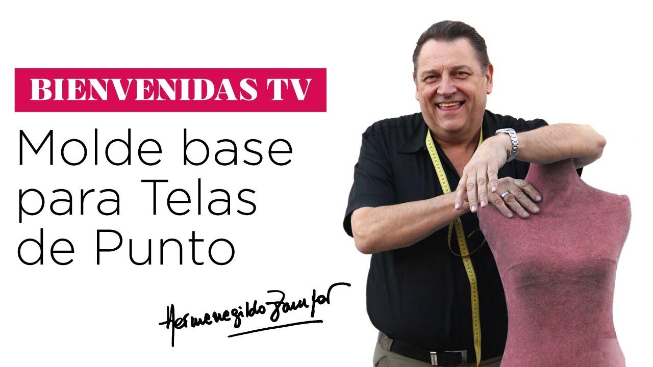 Hermenegildo Zampar - Bienvenidas TV - Molde base para Telas de ...