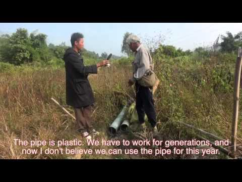 Voices from the Pipeline - Participatory Video from communities around the Shwe Gas Pipeline