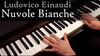 Ludovico Einaudi - Nuvole Bianche piano cover (Неприкасаемые/1+1)