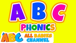 ABC Phonics Song | ABC Songs for Children & Nursery Rhymes | 90 Minutes Compilation for Kids