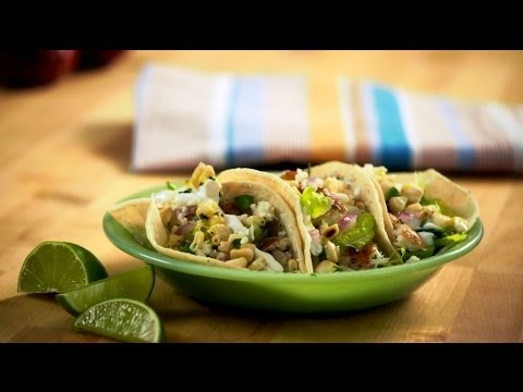Fresh Fish Tacos With Halibut and Corn Salsa | Everyday Health