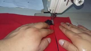 como hacer un bolsillo con cierre (truco)