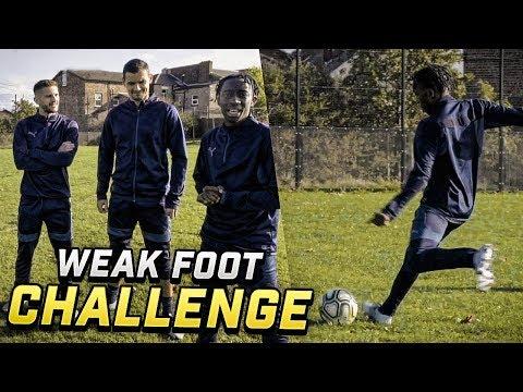 WEAK FOOT SHOOTING CHALLENGE VS ADAM LALLANA AND DEJAN LOVREN!!!