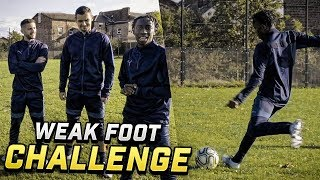 WEAK FOOT SHOOTING CHALLENGE VS ADAM LALLANA AND DEJAN LOVREN!!!