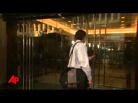 Raw Video: NFLPA President Arrives for Meetings
