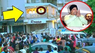 Salman Khan Thanks FANS For Success Of SULTAN Outside House Galaxy Apartments