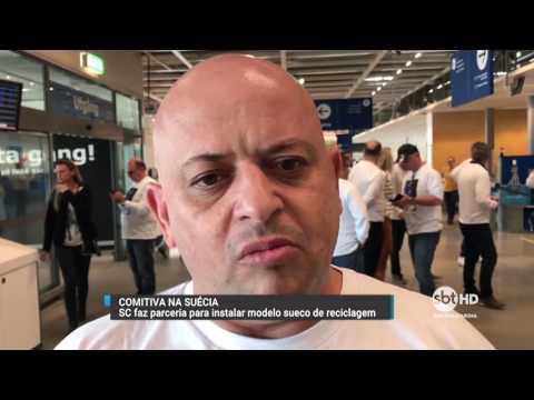 Santa Catarina realiza parceria para instalar modelo de reciclagem sueco