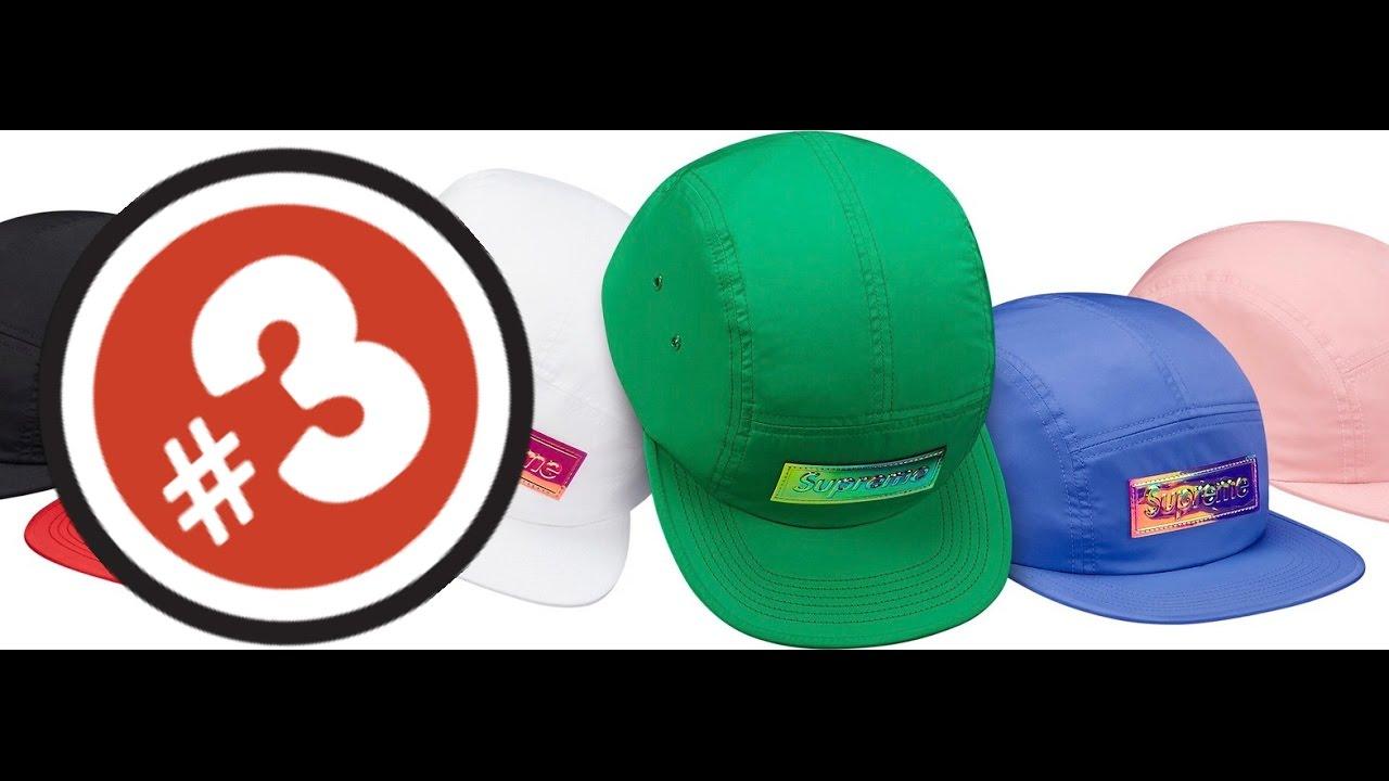 355454db14e 3 Supreme в студию! Supreme Iridescent Logo Camp Cap - YouTube
