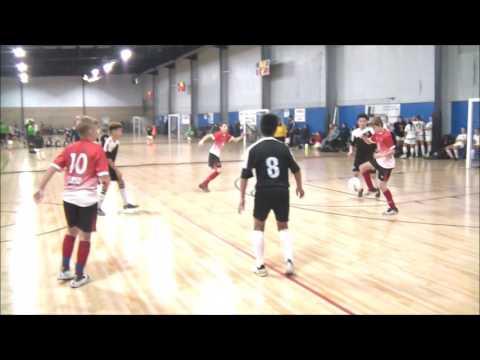 Beautiful Play Between Dennis-Cristian-Jordan To Score Goal In Michigan U.S. Tournament