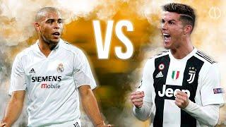 Ronaldo Fenomeno Vs Cristiano Ronaldo Legendary Skills MP3