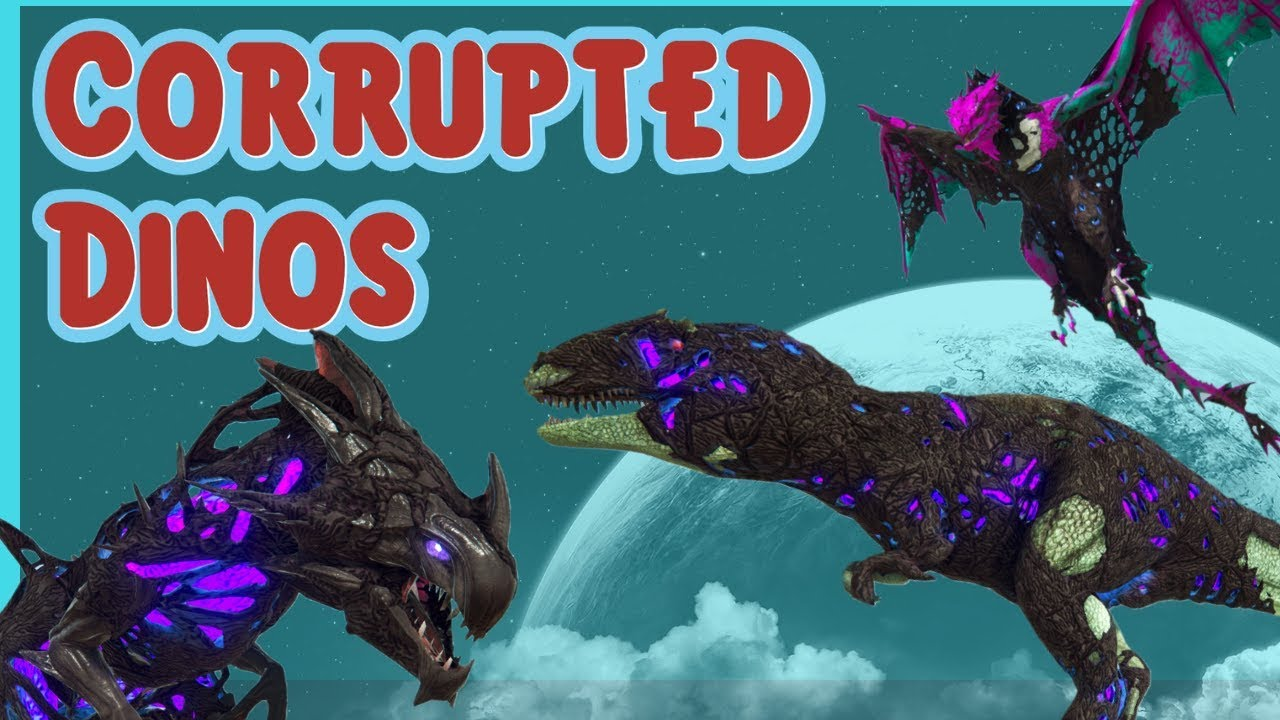 Ark | How to Spawn ALL Corrupted Dinos w/ Admin Commands