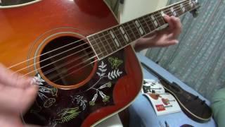 古井戸の「ひなまつり」をアコギで弾き語りました。