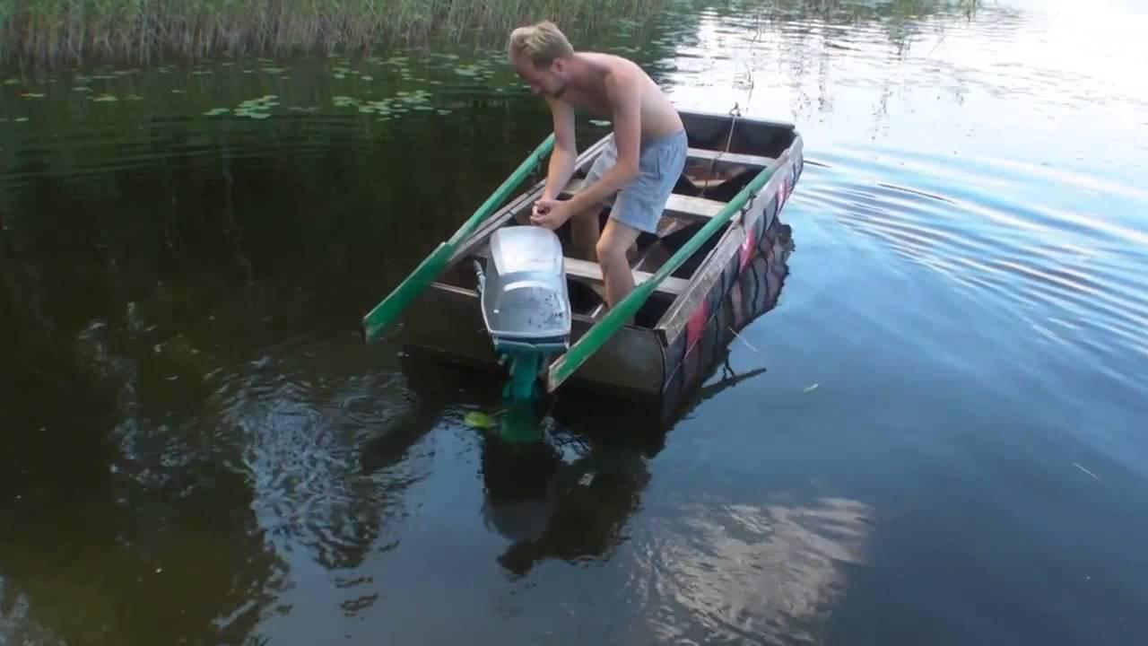 Barrel Boat Semi Regide Zodiac Homemade Pt2 Youtube