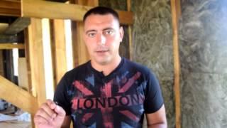 видео Звукоизоляция каркасного дома