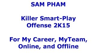 NBA 2k15 How to Score Tons in MyCareer, Online, MyTeam, MyGM. How to Score 2k15 Tutorial and Tips