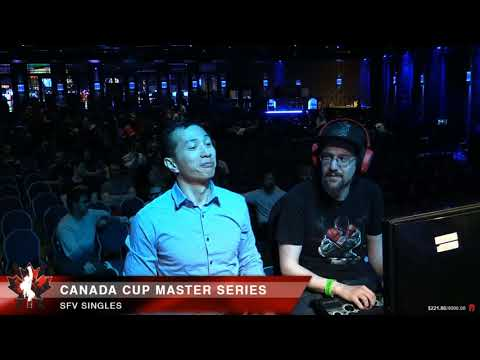 Street Fighter V @Canada Cup Master Series 2018 Bracket Matches Part 1