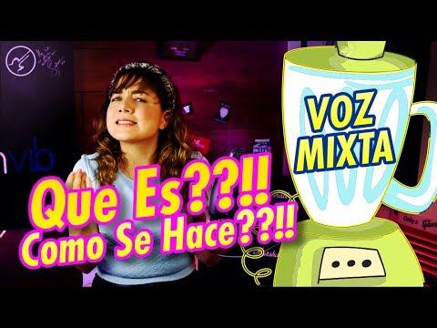 VOZ MIXTA ¿Que Es? COMO SE HACE - CLASES DE CANTO Vocal Coach PARTE 1