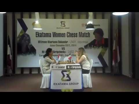 Irene Kharisma Sukandar vs IM Almira Skripchenko - Ekatama Women Chess