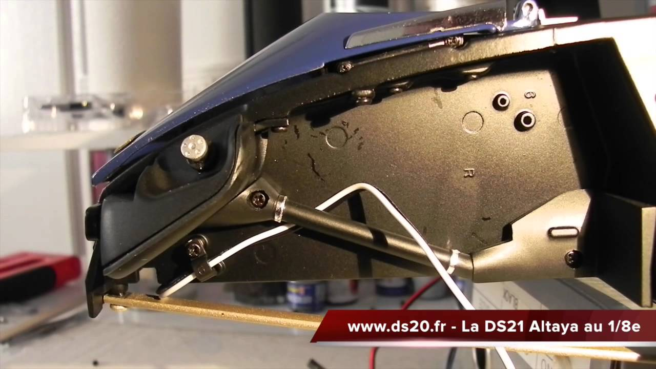 Ds 21 altaya montage n 101 youtube for Altaya ds 21