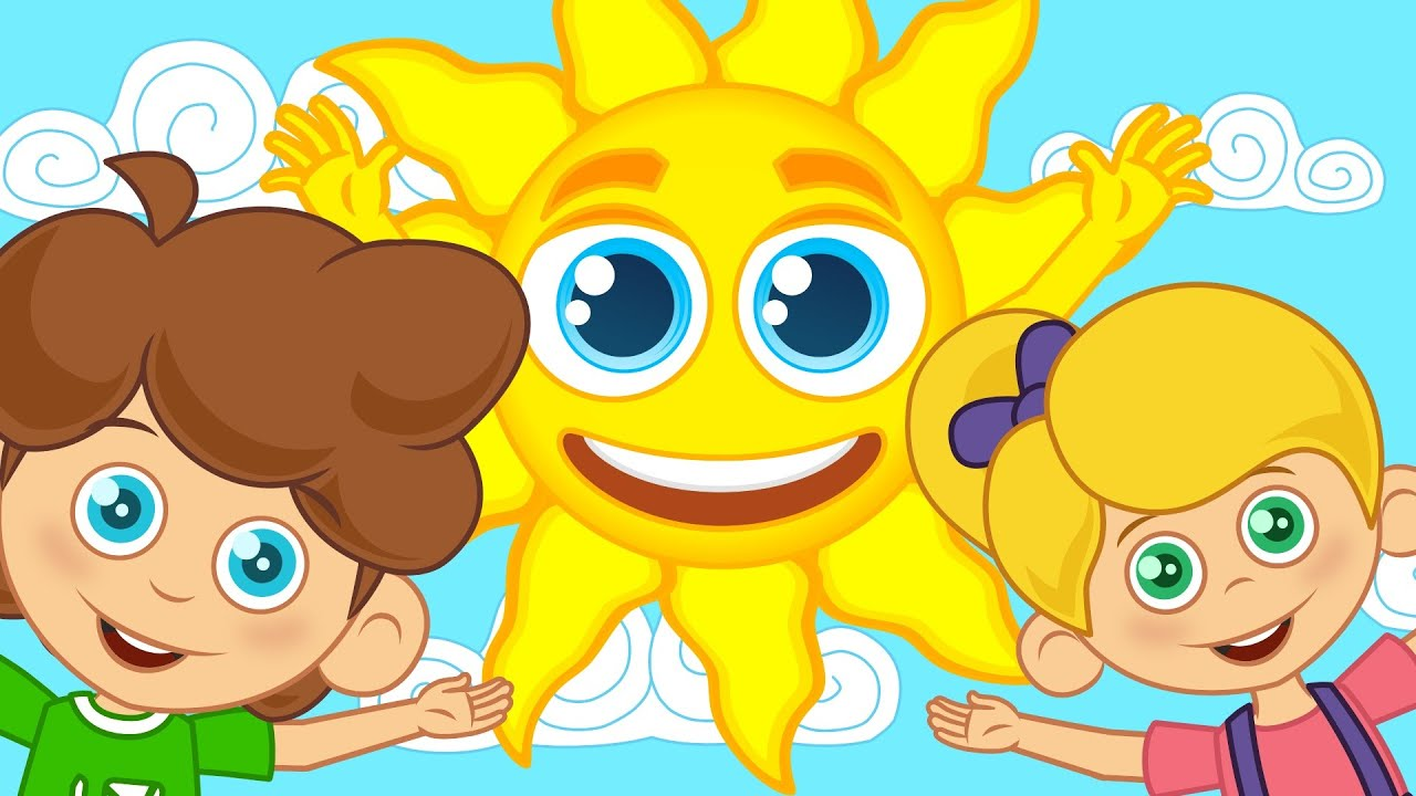 Güneş ile Ay | Sevimli Dostlar Çizgi Film Bebek Şarkıları | Adisebaba TV Çocuk Şarkıları 2016