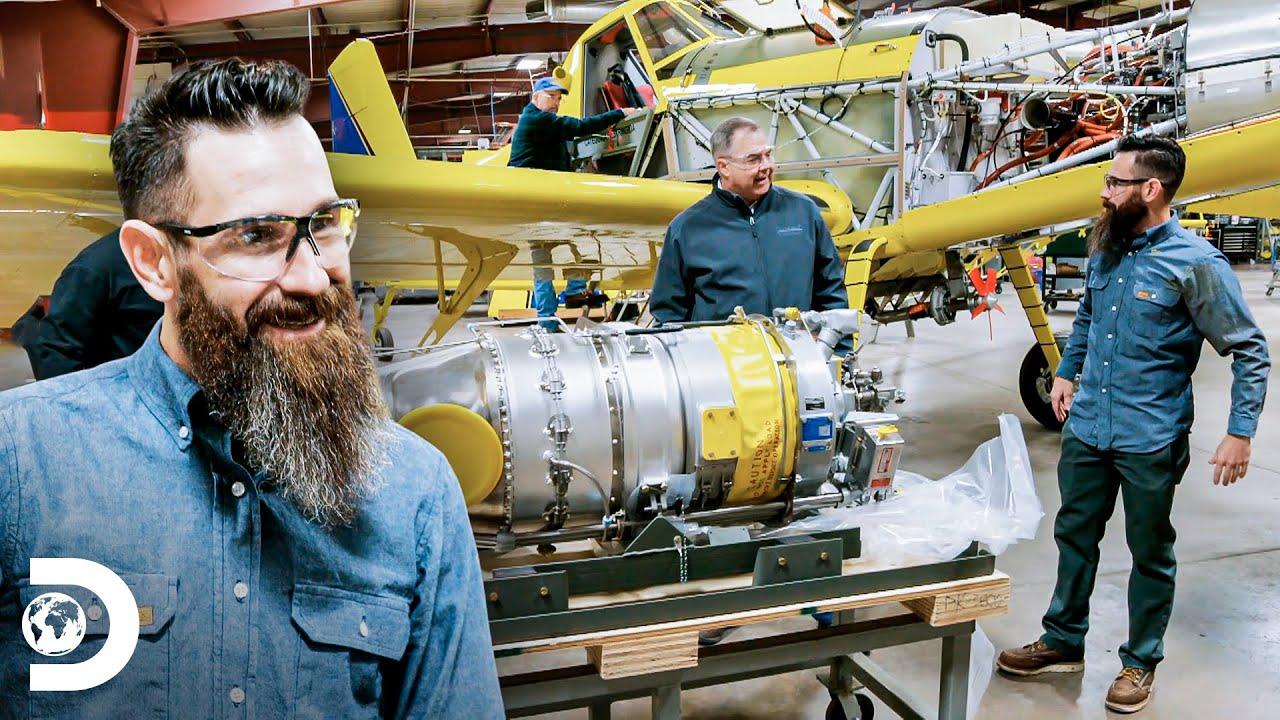 Manutenção de um avião fumigador | Aaron procurando emprego | Discovery Brasil