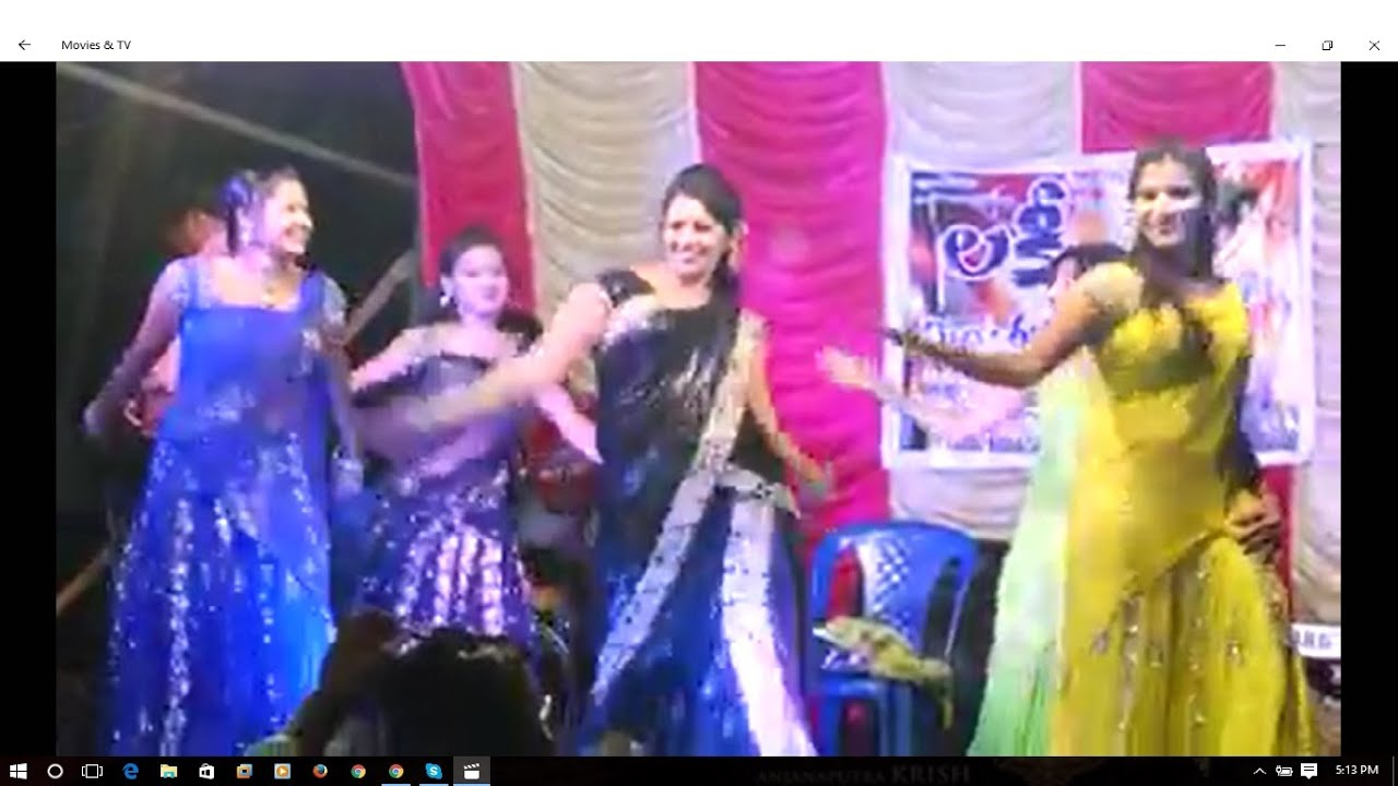 Telugu recording dance - 4 1