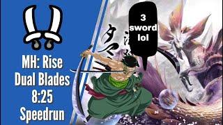 Monster Hunter Rise - Dual Blades 8:25 Speedrun