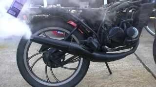 RZ50 5R2 エンジン始動