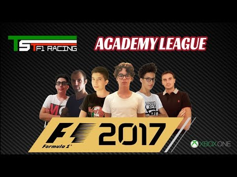 F1 2017 Esports Series by TSTF1Racing Gp Azerbaijan  Academy
