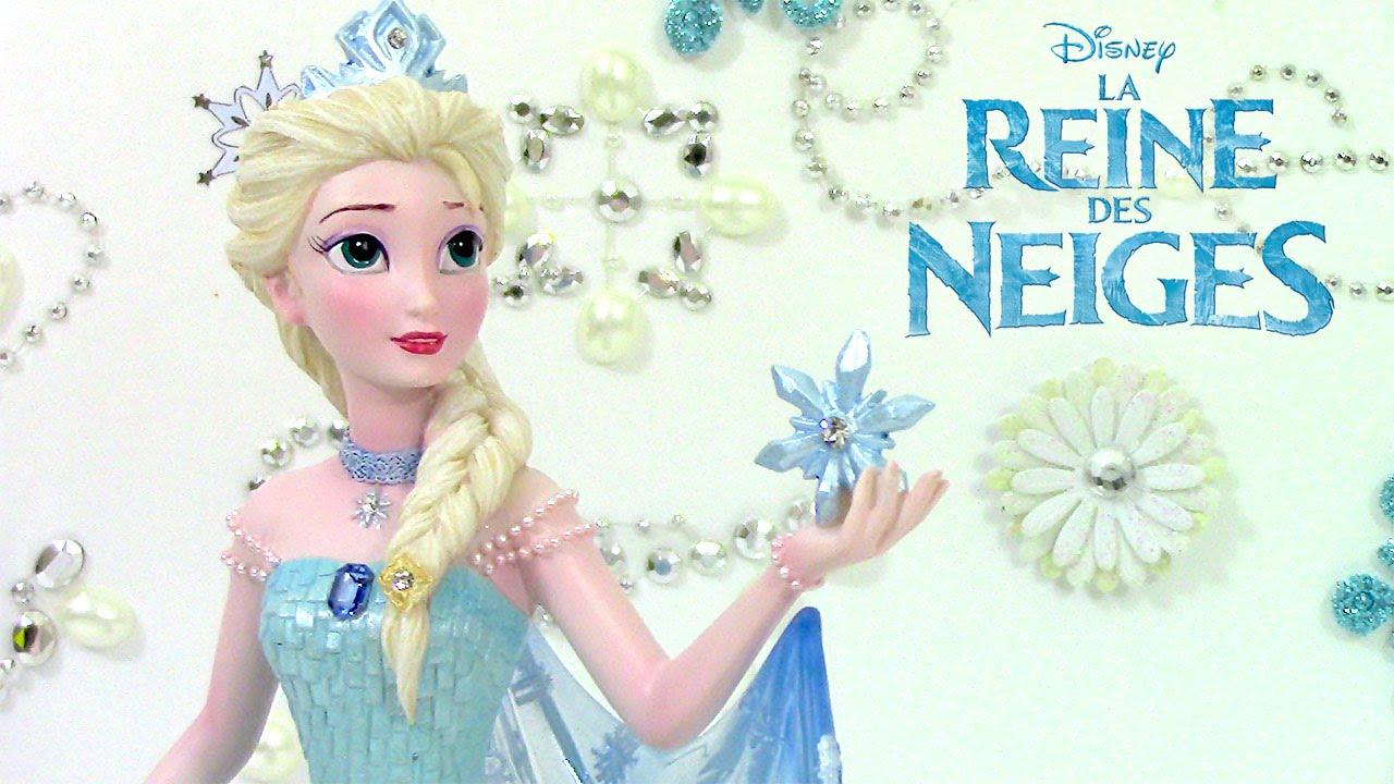 Reine Des Neiges Elsa Figurine Frozen Couture De Force Youtube