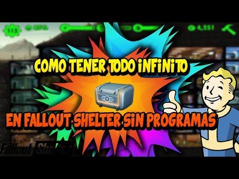 Cómo Tener Todo Infinito En Fallout Shelter PC Sin Programas