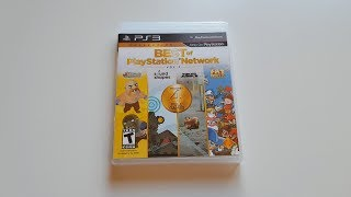 Best of Playstation Network vol  1 PS3 Unboxing