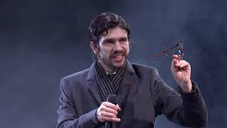 Julius Caesar Act 3 Scene 2 with Ben Whishaw as Brutus | National Theatre at Home: Bridge Theatre