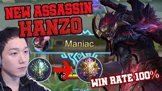 Hanzo is OP? Epic to Mythic Solo Q Rank by Hanzo