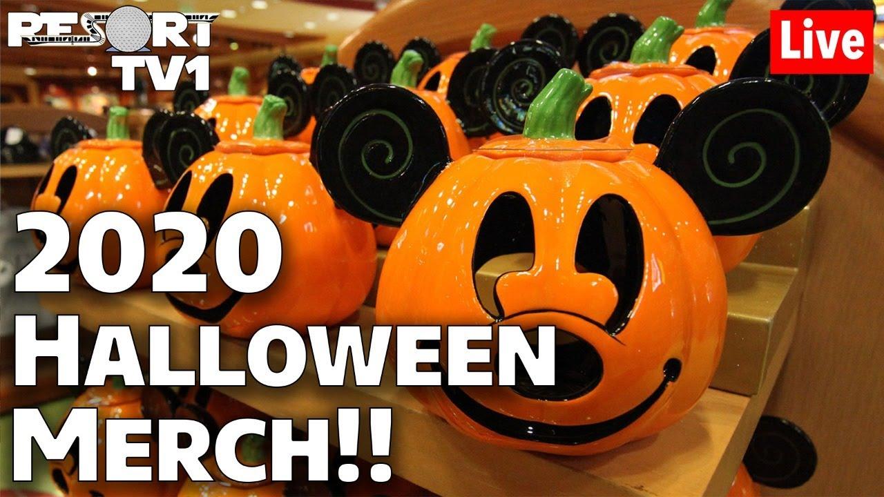 Wdw Halloween Merchandise 2020 🔴Live: 2020 Halloween Merch at World of Disney   Disney Springs